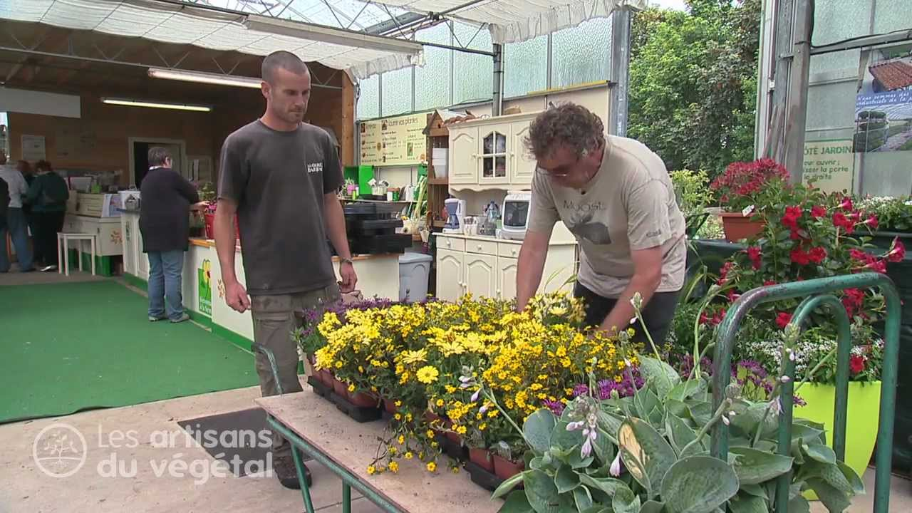 Horticulteur, un métier de passion ! - YouTube
