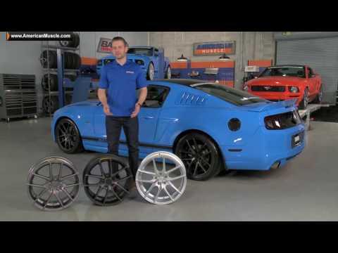 2005-2014 Mustang Niche Targa Wheels - Matte Black, Matte Anthracite & Matte Silver  Review &