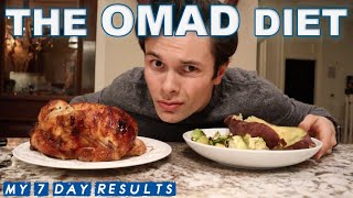 I tried the OMAD Diet for a week | ONE MEAL A DAY diet results