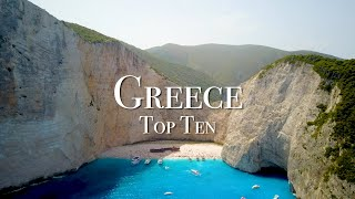Top 10 Places T๐ Visit In Greece