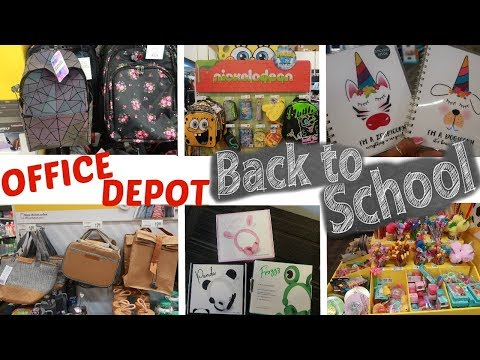 OFFICE DEPOT * BACK TO SCHOOL SUPPLIES 2019