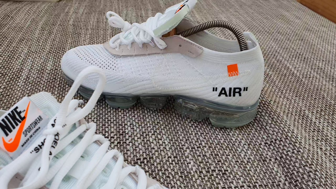 Nike Off White Vapormax - ( TAN JUN 🤦\u200d