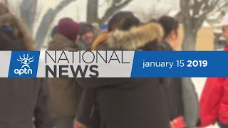 APTN National News January 15, 2019 – Using water to get clean water, Thunder Bay Police apologizes
