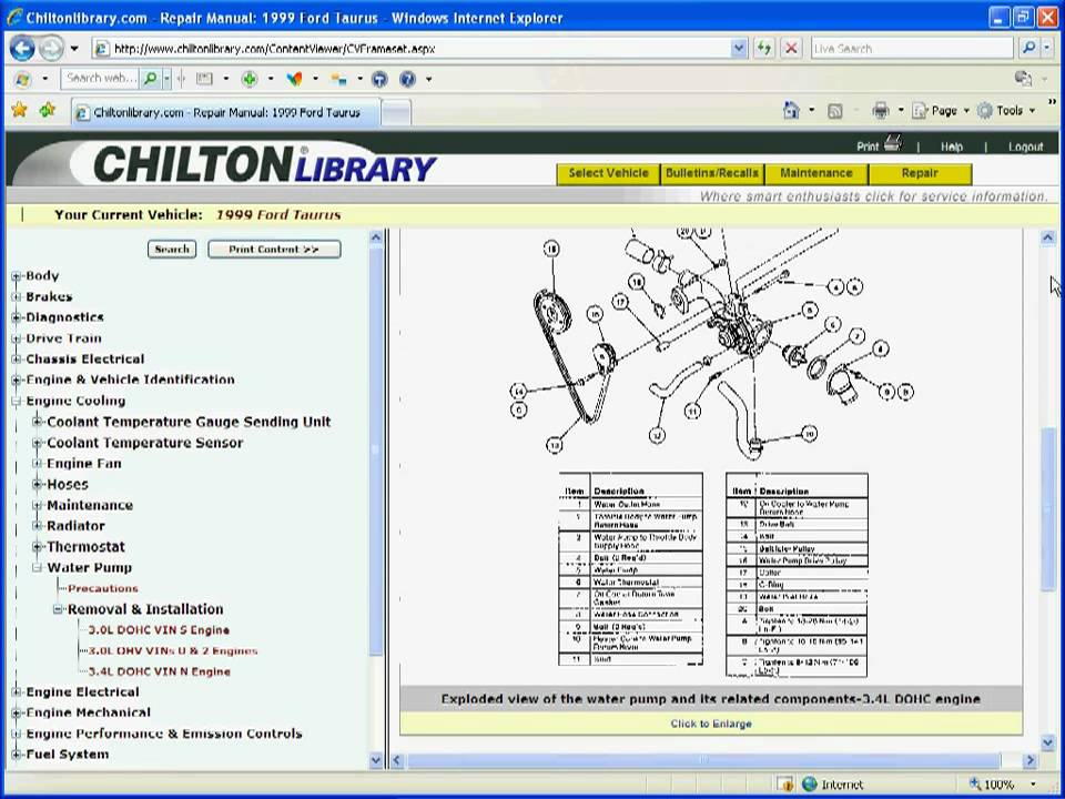 using chilton library from gale navigating repair manuals youtube rh youtube com 1999 ford taurus repair manual pdf 1999 ford taurus repair manual free online