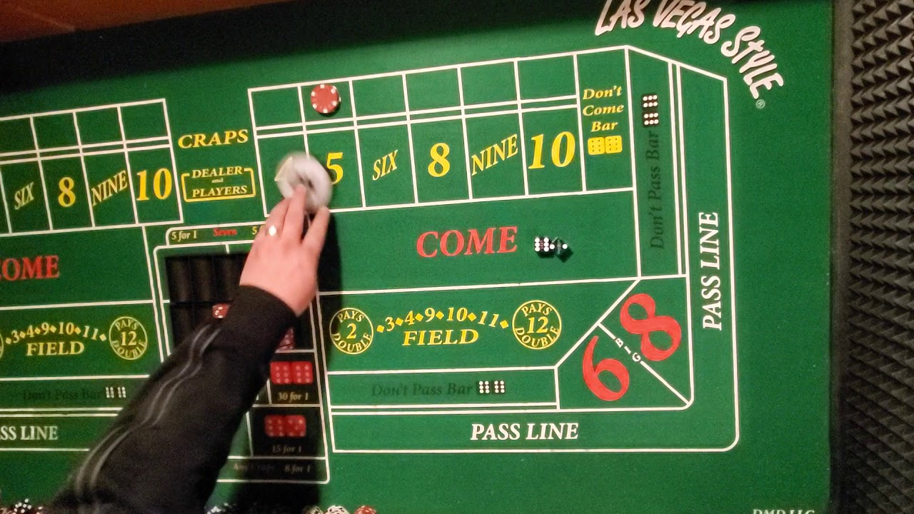 Craps Lay Bet Strategy