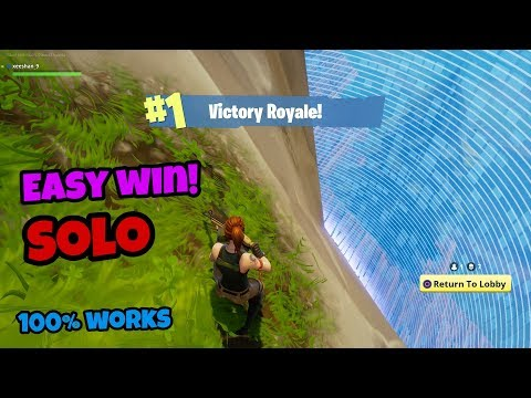 How to win in Fortnite Battle Royale easily (100% win) PS4/Xbox one