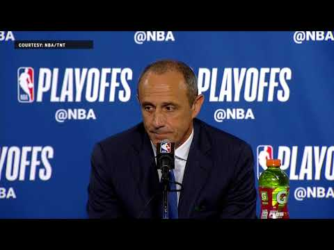 Ettore Messina Press Conference following Game 5 | Warriors Eliminate Spurs