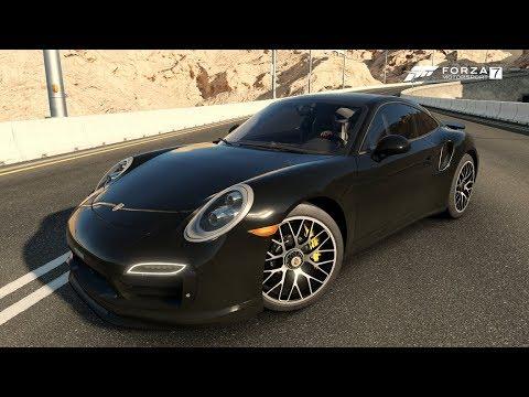 "Forza Motorsport 7 - 2014 PORSCHE 911 TURBO S ""TUNED"" - Test Drive DUBAI - 1080p60FPS"