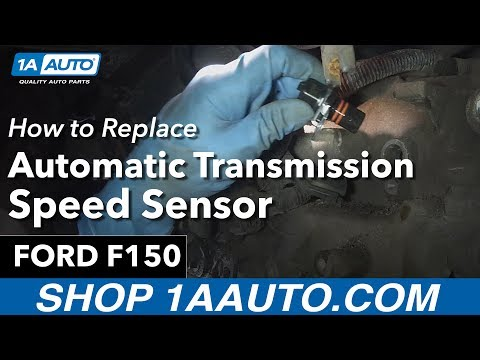 How to Replace Install Transmission Output Speed Sensor 1994-00 Ford F-150
