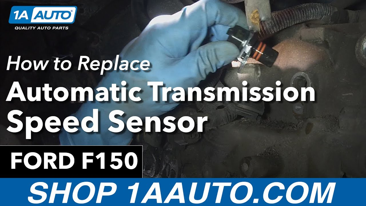 How to Replace Install Transmission Output Speed Sensor 199400 Ford F150  YouTube