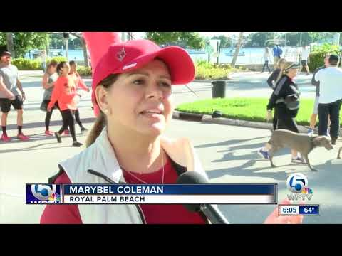 Palm Beach County Heart Walk Held In West Palm Beach