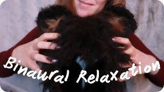 ASMR Dummyhead Scalp Massage, Head Tapping and Scratching, and More 🐻 No talking
