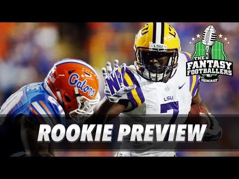 Fantasy Football 2017 - The Rookie Show, Fantasy Outlook, Draft Day Foods - Ep. #372