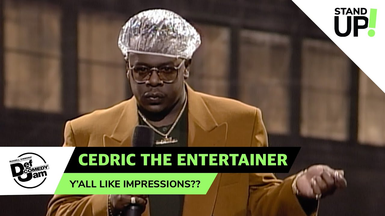 Cedric the Entertainer Becomes Cedric the Impressionist | Def Comedy Jam | LOL StandUp!