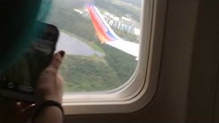 MY FIRST TIME ON A PLANE!!!!!!!!
