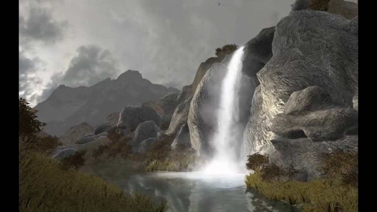 Unity3D Waterfall Tutorial - YouTube