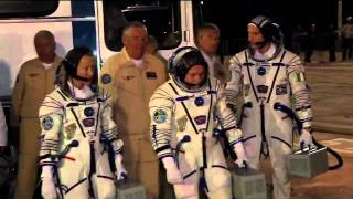 Expedition 36/37 Crew Heads to the ISS