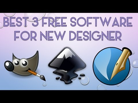 Best free graphic design software for new designer 2017✔