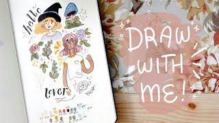 draw with me ✨ // cheyenne barton