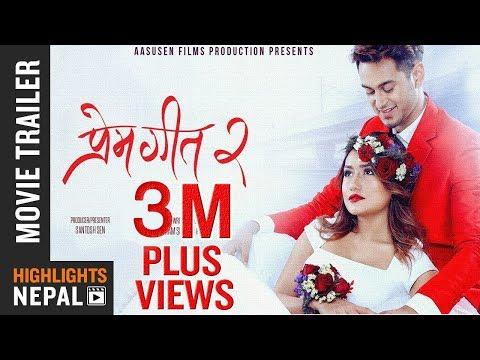 PREM GEET 2   New Nepali Movie Official Trailer 2017/2074   Pradeep Khadka, Aaslesha Thakuri