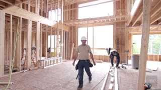 Cardel Homes - What makes a house a Cardel home? - Framing