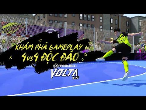⚽️ KHÁM PHÁ GAMEPLAY VOLTA LIVE - FIFA ONLINE 4 ⚽️
