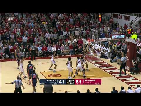 Auburn Men's Basketball vs Alabama Highlights