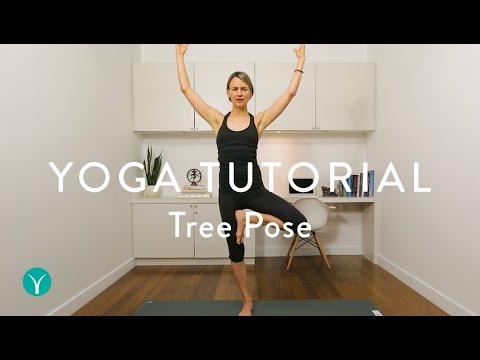 HOW TO DO TREE POSE PROPERLY (Vrksasana Done Correctly)