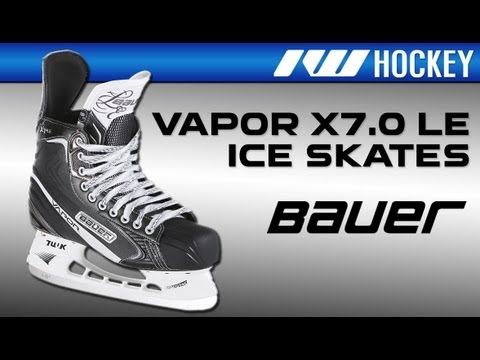 465a568fc0e Bauer Vapor X7.0 LE Ice Hockey Skate - YouTube