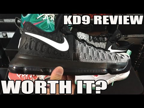 Is It Worth Buying? Nike KD 9 Review / Comparison / On Feet