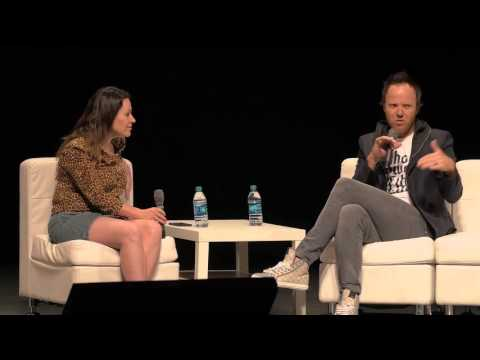 Qualtrics CEO Ryan Smith and TechCrunch's Sarah Buhr at StartFEST