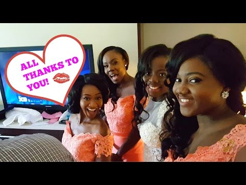 ALL THANKS TO YOU! + CALEB & AMA'S GHANAIAN WEDDING 2016