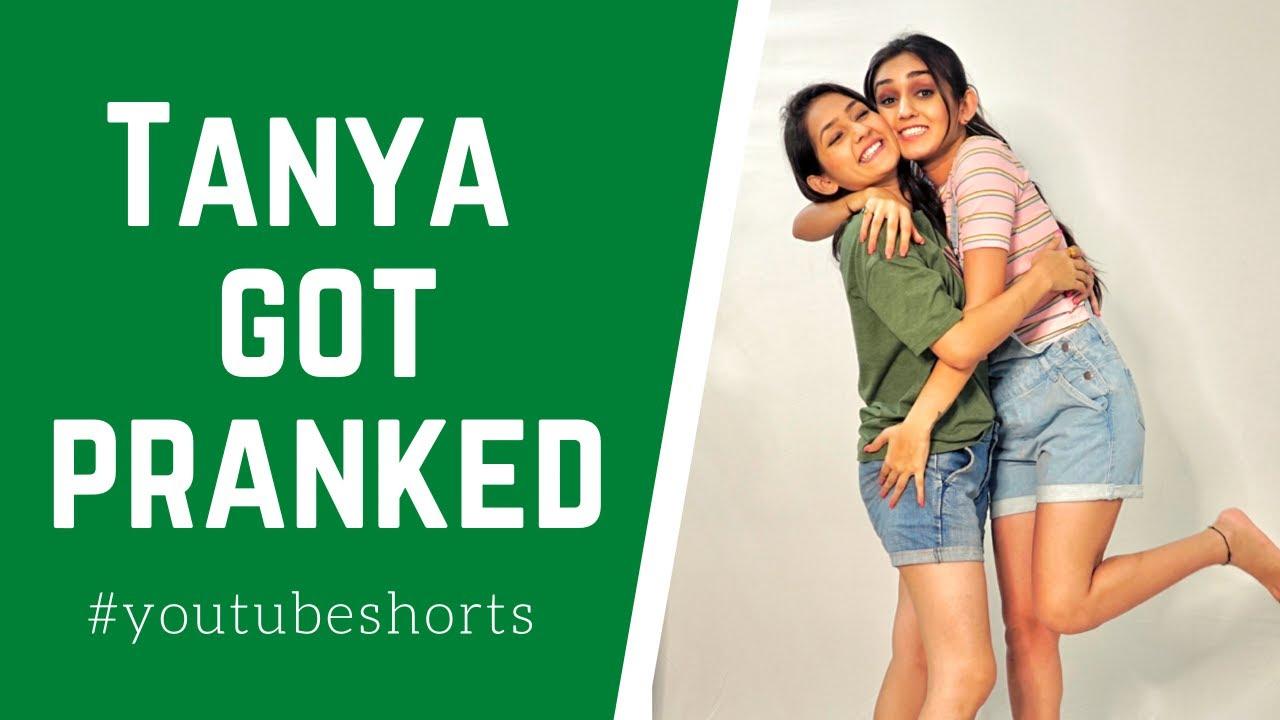 Tanya Got Pranked Again | Sharma Sisters | Tanya Sharma | Kritika Sharma | YouTube shorts