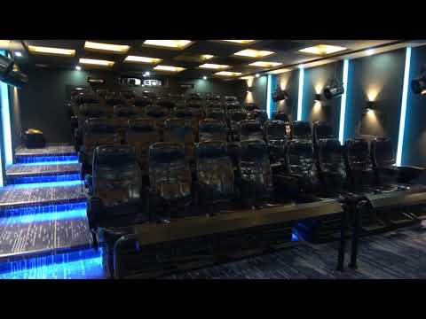 Amazing 4d max movie theater match completed with Hollywood blockbuster