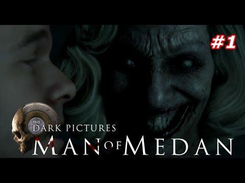 Прохождение The Dark Pictures Anthology: Man of Medan — Часть 1: НОВЫЙ УЖАСТИК! КОРАБЛЬ ПРИЗРАК!