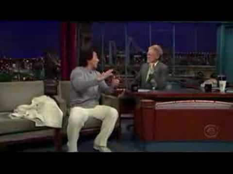 Jackie Chan on David Letterman
