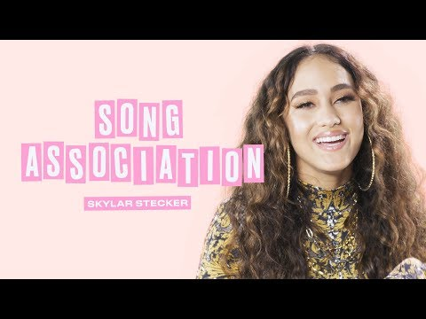 Skylar Stecker Sings Tori Kelly, Cardi B, and Rihanna in a Game of Song Association | ELLE