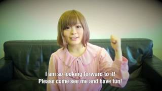 Kyary Pamyu Pamyu – Message to fans in NYC – KPP 5iVE YEARS MONSTER WORLD TOUR