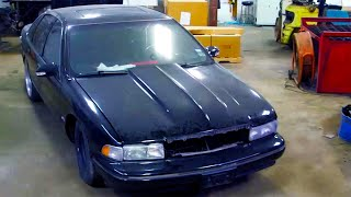 homepage tile video photo for Bullet Found in Fake Impala!   Texas Metal Season 4 Premiere   MotorTrend