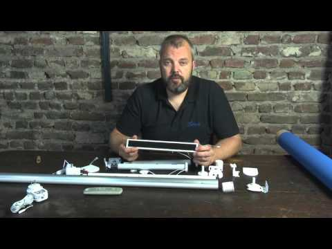 How to make your own electric roller blind - Part 1 - parts overview