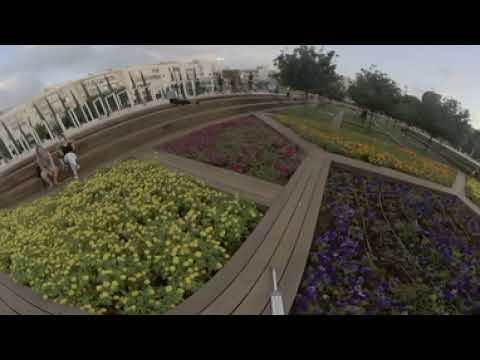 Garden Filming In 3D In Theater Habima Garden In Tel Aviv Israel