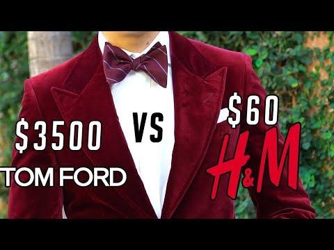 Splurge or Steal: Velvet Blazers $3500 Tom Ford VS $60 H&M || Men's Fashion 2017 || Gent's Lounge