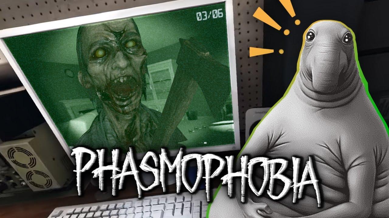 СТРАШНЫЕ ПРИЗРАКИ ЖДУТ VR, А ВЫ? - Phasmophobia 2021