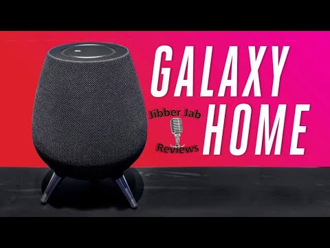 Samsung Galaxy Home Speaker - Features and Design Revealed - Jibber Jab Reviews!