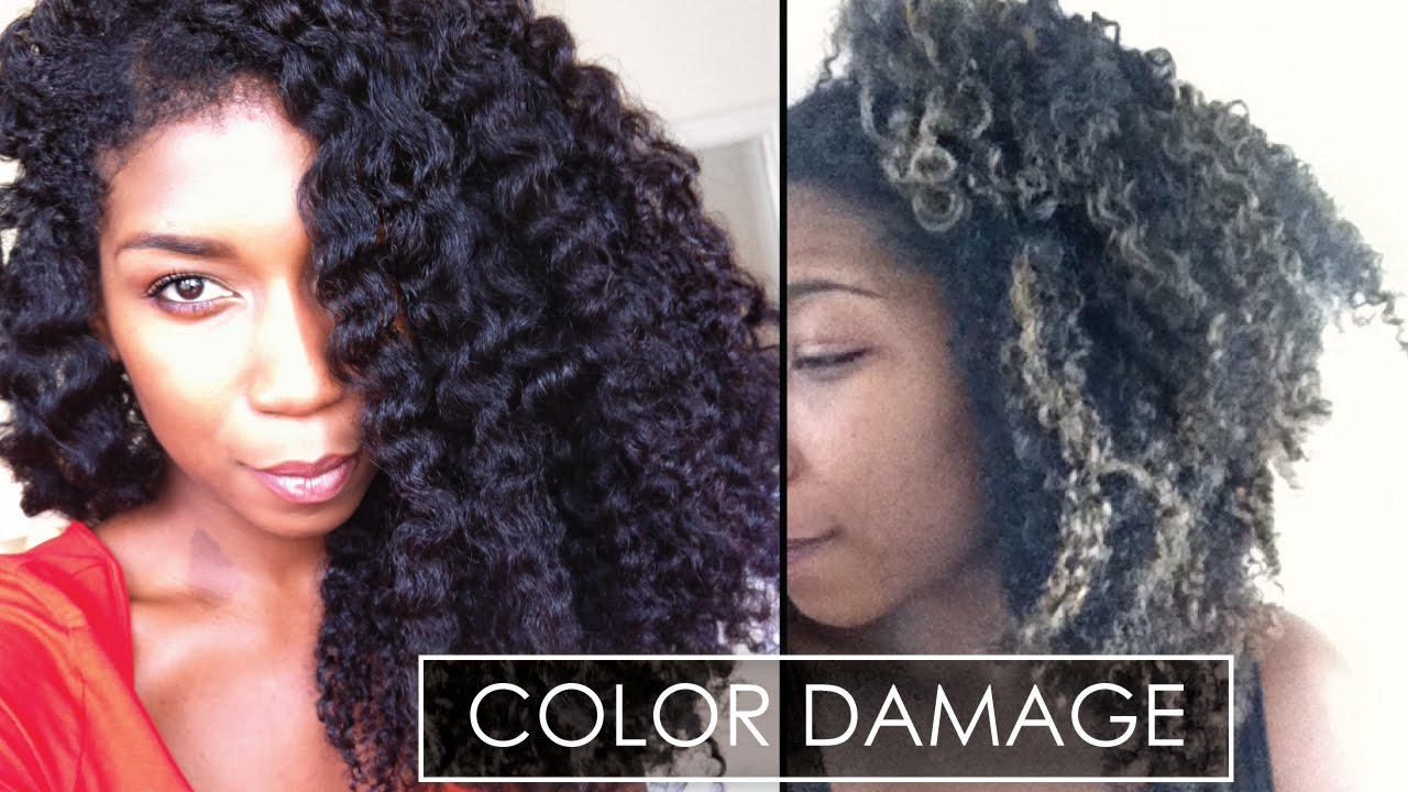 Why Heat Color Damage Sucks With Pictures Natural Hair Youtube