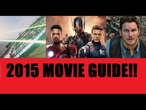 2015 Movie Guide: A Look at the BIG Movies of 2015