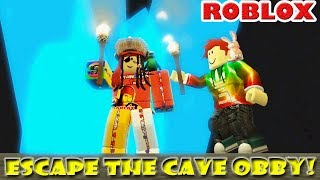 ESCAPE THE CAVE OBBY!  [ft.FreddyGoesBoom on Voice-Chat]|| ROBLOX