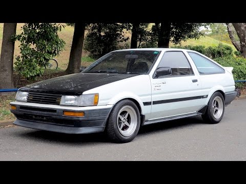 1984 Toyota Corolla Levin AE86 Modified (Ireland Import) Japan Auction  Purchase Review