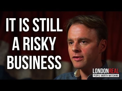 THE RISKS OF GIVING AWAY TOO MUCH EQUITY - Patrick McGinnis on London Real