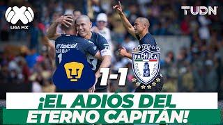 ¡Inolvidable! El último gol de Dario Verón en Pumas I Pumas 1-1 Pachucha CL17 I TUDN